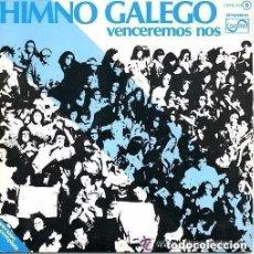 Discos de vinilo: HIMNO GALEGO / VENCEREMOS NOS - SINGLE ZAFIRO 1976. Lote 146438326