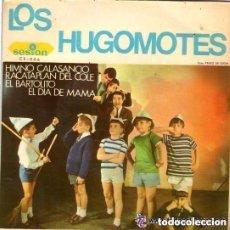 Discos de vinilo: LOS HUGOMOTES - HIMNO CALANSANCIO + 3 TEMAS - EP SESION 1966. Lote 146438558