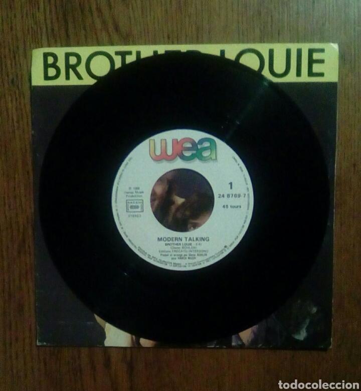 Discos de vinilo: Modern Talking - Brother louie, Wea, 1986. France. - Foto 3 - 146461142