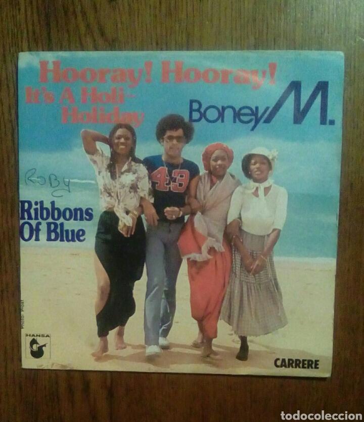BONEY M. - HOORAY! HOORAY,!..., CARRERE, 1979. FRANCE. (Música - Discos - Singles Vinilo - Electrónica, Avantgarde y Experimental)
