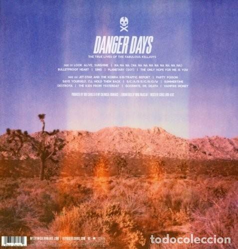 Discos de vinilo: MY CHEMICAL ROMANCE. DANGER DAYS LP GATEFOLD NUEVO 2011 REPRISE RECORDS - Foto 3 - 146462630