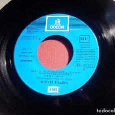 Discos de vinilo: DISCO VINILO - SINGLE - RAFAEL FARINA - PERFIDIA - LA PALOMA - ODEON 1976. Lote 146466422