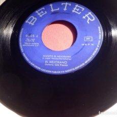Discos de vinilo: DISCO VINILO - SINGLE - EL MEJORANO - JUANITO EL MEJORANO - MI NOVIA - BELTER 1970. Lote 146472806