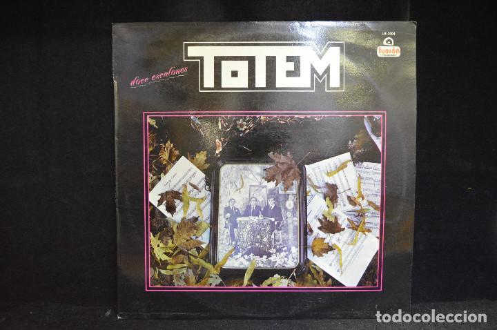 TOTEM - DOCE ESCALONES - LP (Música - Discos - LP Vinilo - Grupos Españoles de los 70 y 80)