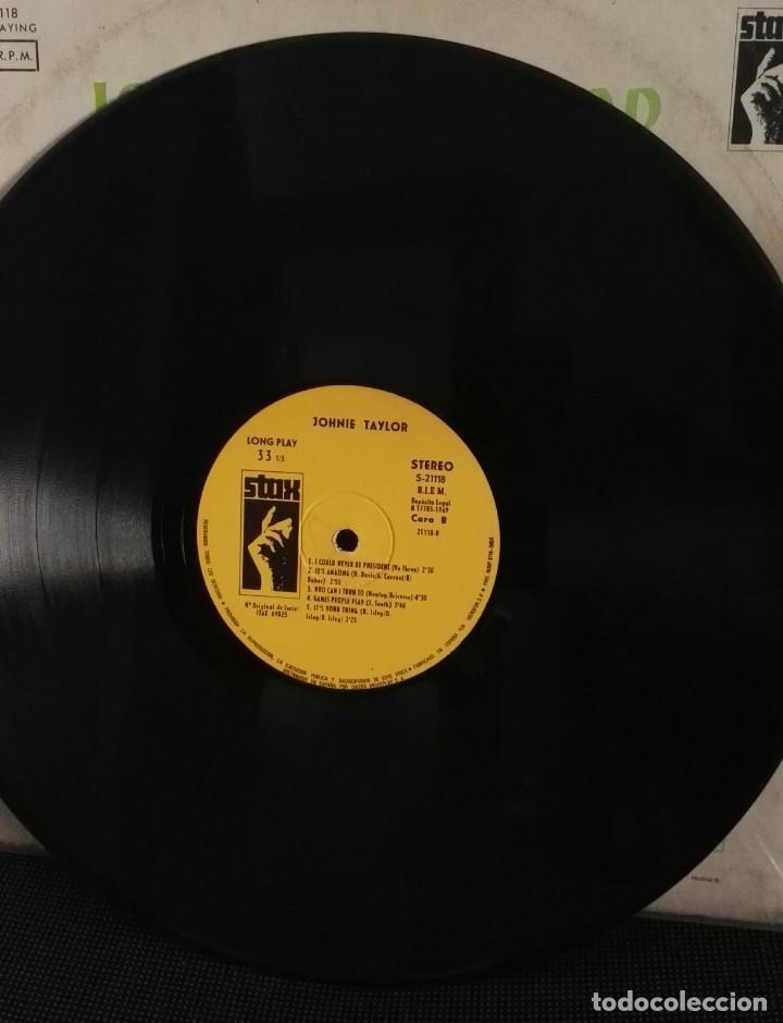Discos de vinilo: Johnnie taylor lp testify caratula rara - Foto 3 - 146497874