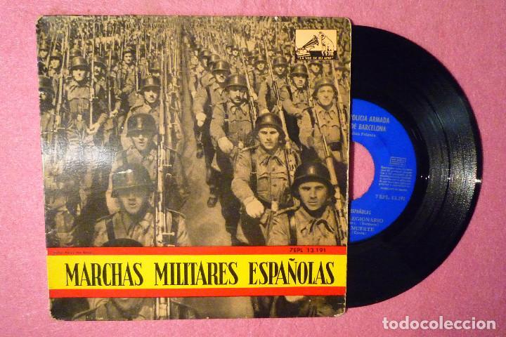JULIAN PALANCA LA CANCION DEL LEGIONARIO / 3+ EP MARCHAS MILITARES (EX-/EX-)V (Música - Discos de Vinilo - EPs - Clásica, Ópera, Zarzuela y Marchas)