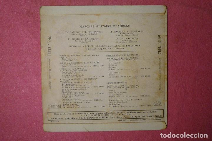 Discos de vinilo: JULIAN PALANCA La Cancion Del Legionario / 3+ EP MARCHAS MILITARES (EX-/EX-)V - Foto 2 - 146499830