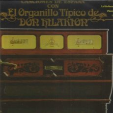Discos de vinilo: ORGANILLO DON HILARION. Lote 146502022