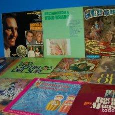Discos de vinilo: LOTE 11 DISCOS-VINILOS LPS CON ESPAÑA EN EL CORAZON-VARIADOS. Lote 146503094