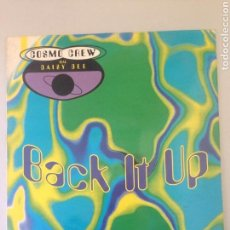 Discos de vinilo: BACK IT UP. Lote 146505866
