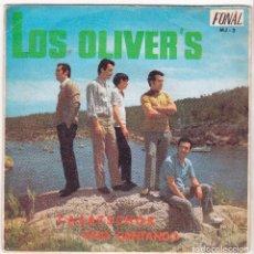 Discos de vinilo: LOS OLIVER´S SINGLE CASATSCHOK VIVO CANTANDO FONAL MJ3 MALLORCA 1969. Lote 146511910