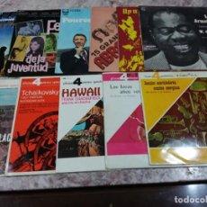 Discos de vinilo: LOTE DE 11 LPS DE VINILO AÑOS 50-60. Lote 146514710