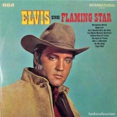 Discos de vinilo: ELVIS SINGS FLAMING STAR - LP / RCA CAMDEN UK - PUBLICADO 1969 (PRESLEY). Lote 146518942