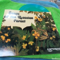 Discos de vinilo: SONGS OF THE RUSSIAN FOREST SINGLE FLEXI PROMOCIONAL SOVIET AIRLINES. Lote 146519486