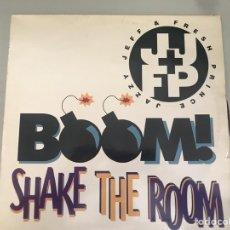Discos de vinilo: BOOM! SHAKE THE ROOM. Lote 146520442