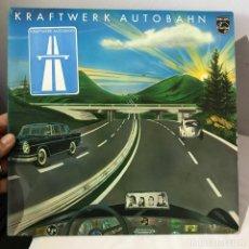 Discos de vinilo: KRAFTWERK AUTOBAHN _ 1974 GERMANY ORIGINAL PERFECTO ESTADO. Lote 146521562
