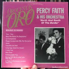 Discos de vinilo: PERCY FAITH & HIS ORCHESTRA ‎– NORTH AND SOUTH OF THE BORDER. Lote 146533446