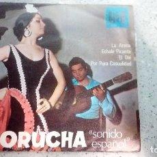 Discos de vinilo: VINILO MORUCHA HIT LA ARENA - ECHALE PICANTE - EL OLÉ - POR PURA CASUALIDAD AÑOS 60. Lote 146538810