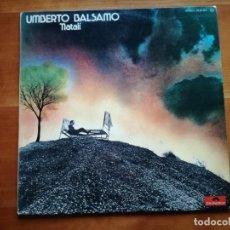 Discos de vinilo: UMBERTO BALSAMO-NATALÍ, LP POLYDOR 1976. Lote 146550926