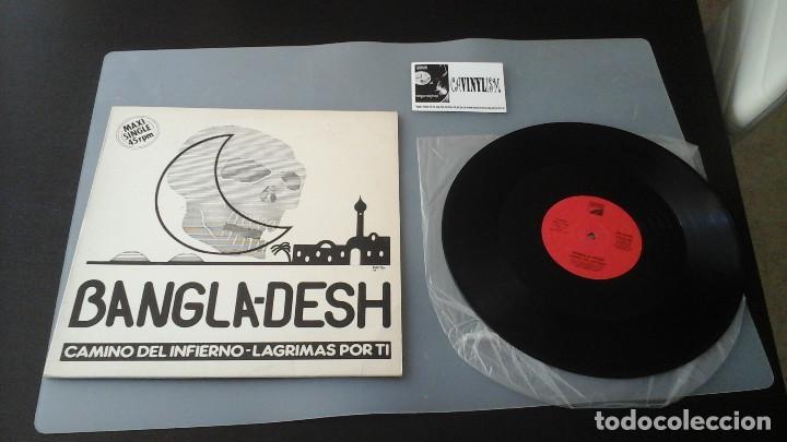 BANGLA-DESH ?– CAMINO DEL INFIERNO MAXI OPEN RECORDS ?– OMX 1146 HARD ROCK HEAVY METAL ESPAÑOL (Música - Discos de Vinilo - Maxi Singles - Grupos Españoles de los 70 y 80)