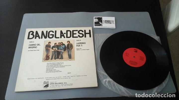 Discos de vinilo: Bangla-Desh ?– Camino Del Infierno MAXI Open Records ?– OMX 1146 Hard Rock Heavy Metal Español - Foto 2 - 146554098