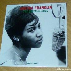 Discos de vinilo: ARETHA FRANKLIN - THE QUEEN OF SOUL (LP 2018, NOT NOW MUSIC CATLP145) PRECINTADO. Lote 147075156