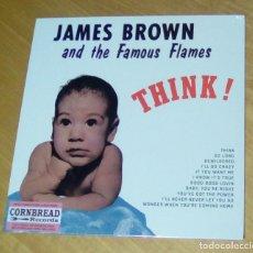 Discos de vinilo: JAMES BROWN AND THE FAMOUS FLAMES - THINK! (LP 2016, CRNBR16002) PRECINTADO. Lote 146562266