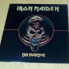 Discos de vinilo: IRON MAIDEN - THE FUGITIVE (LP REEDICIÓN) NUEVO. Lote 182423421