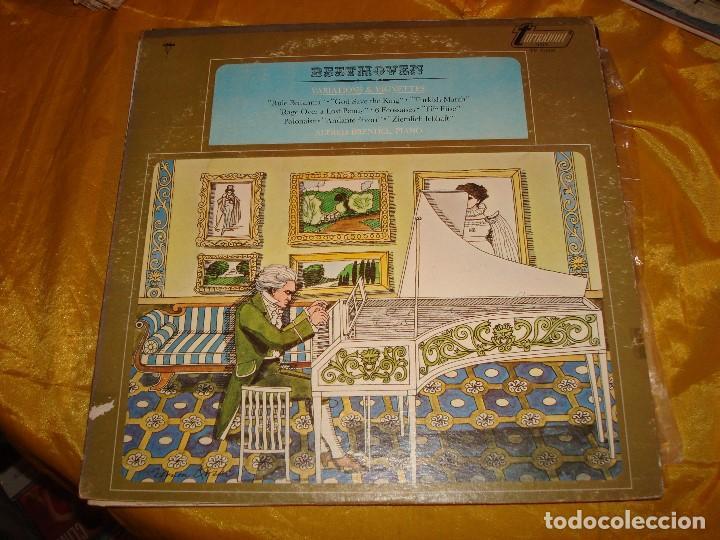 BEETHOVEN. VARIATIONS & VIGNETTES. ALFRED BRENDEL, PIANO. TURNABOUT, 1968. EDC. USA. IMPECABLE (#) (Música - Discos - LP Vinilo - Clásica, Ópera, Zarzuela y Marchas)