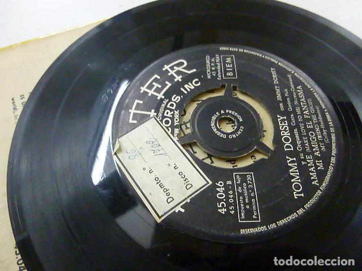 Discos de vinilo: TOMMY DORSEY Lo Que Me Sucede / 3+- EP -N . - Foto 3 - 146567614