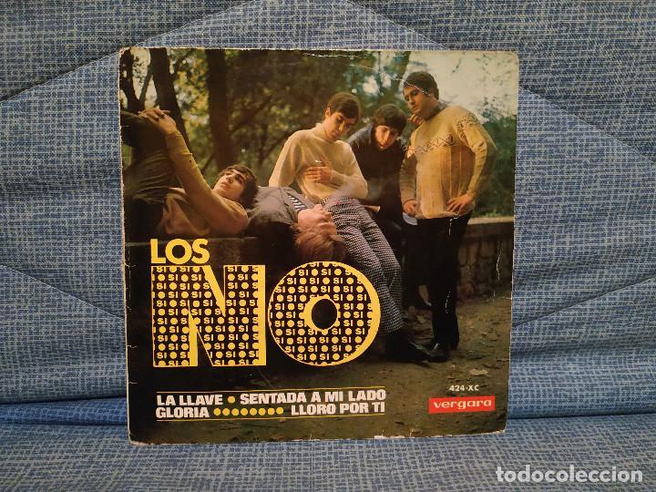 LOS NO - LA LLAVE / SENTADA A MI LADO / GLORIA / LLORO POR TI - EP ESPAÑOL DEL AÑO 1966 - FREAKBEAT (Música - Discos de Vinilo - EPs - Grupos Españoles 50 y 60)