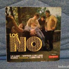 Discos de vinilo: LOS NO - LA LLAVE / SENTADA A MI LADO / GLORIA / LLORO POR TI - EP ESPAÑOL DEL AÑO 1966 - FREAKBEAT. Lote 146570310