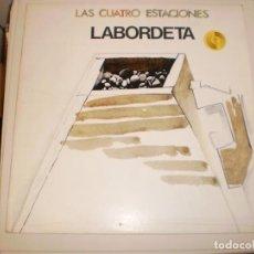 Discos de vinilo: LP LABORDETA. LAS CUATRO ESTACIONES. MOVIE PLAY 1981 SPAIN (SEMINUEVO, PROBADO Y BIEN). Lote 146577530