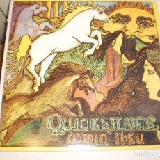 Discos de vinilo: LP QUICKSILVER MESSENGER SERVICE. COMIN' THRU. BGO RECORDS ENGLAND 1991 (PROBADO Y BIEN). Lote 146581398