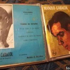 Discos de vinilo: VENDO 16 VINILOS DE MANOLO ESCOBAR, PORRIMA DE BADAJOZ, MANOLO CARACOL, LA PAQUERA DE JEREZ,. Lote 146588526