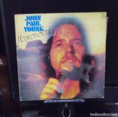 Discos de vinilo: JOHN PAUL YOUNG -- HEAVEN SENT --L.P. --- EDICION ESPAÑOLA ARIOLA EURODISC. Lote 146596626