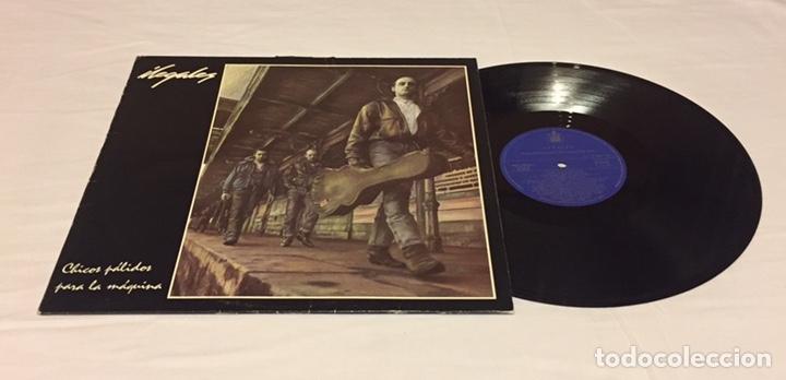 ILEGALES - CHICOS PÁLIDOS PARA LA MÁQUINA LP, 1988, ESPAÑA (Música - Discos - LP Vinilo - Punk - Hard Core)