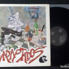 Discos de vinilo: DISCO LP VINILO CICATRIZ INADAPTADOS ORIGINAL DE 1986 OIHUKA PUNK ROCK. Lote 146609406