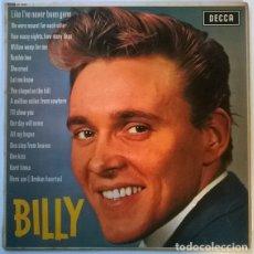 Discos de vinilo: BILLY FURY. SIXTEEN GREAT SONGS SUNG BY. DECCA, UK 1963 LP MONO (LK 4533). Lote 146615666