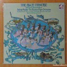 Discos de vinilo: ARTHUR FIEDLER / THE BOSTON POPS ORCHESTRA - THE BLUE DANUBE - LP. Lote 146615734