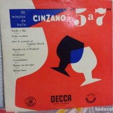 Discos de vinilo: LOTE DE 6 MAXI SINGLES DE VINILO ORQUESTAS AÑOS 50-60.. Lote 146616582