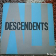 Discos de vinilo: LP. DESCENDENTS. ALL. ORIGINAL DE 1988. ENCARTE CON LETRAS. Lote 197741112