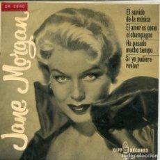 Discos de vinilo: JANE MORGAN / EL SONIDO DE LA MUSICA + 3 (EP 1964). Lote 146618890