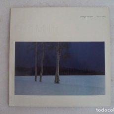Discos de vinilo: GEOGE WINSTON, PIANOS SOLOS, DECEMBER. LP EDICION ALEMANA 1982 WINDHAM HILL RECORDS. Lote 239714070