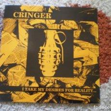 Discos de vinilo: LP. GRINGER. I TAKE MY DESIRES FOR REALITY. ORIGINAL DE 1991. ENCARTE LETRAS. EXCELENTE CONSERVACION. Lote 146619374