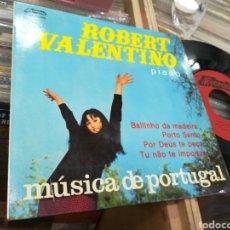 Discos de vinilo: ROBERT VALENTINO EP MUSICA DE PORTUGAL BAILINHO DA MADEIRA PORTUGAL 1966. Lote 146620716