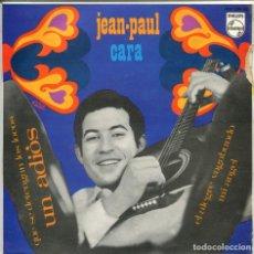 Discos de vinilo: JEAN-PAUL CARA / UN ADIOS + 3 (EP 1967). Lote 146620810