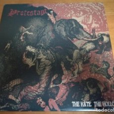 Discos de vinilo: PROTESTANT, THE HATE THE HOLLOW LP RIMBAUD RECORDS USA. Lote 146636026