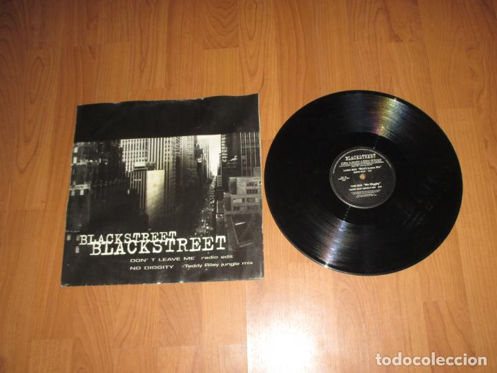 BLACKSTREET - DON´T LEAVE ME - MAXI - ITALIA - ZAC RECORDS - IBL (Música - Discos de Vinilo - Maxi Singles - Rap / Hip Hop)