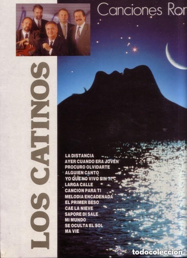 LOS CATINOS– CANCIONES ROMÁNTICAS - LP SPAIN 1991 (Música - Discos - LP Vinilo - Grupos Españoles 50 y 60)